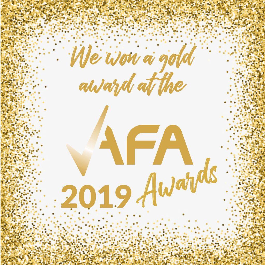 AFA Gold Award 2019