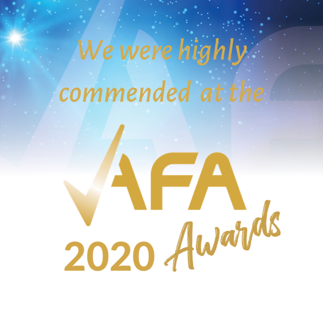 We were highly commeded at the 2020 AFA Awards