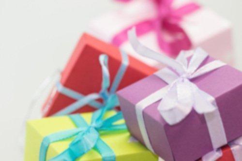 Multi Coloured Presents