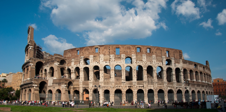 The Colosseum Italy